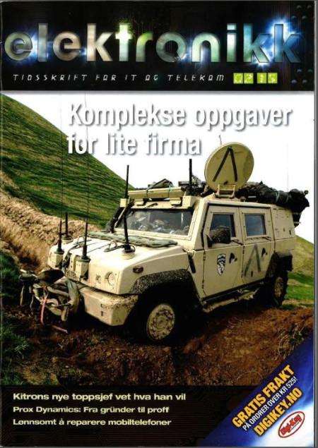 Article about TINEX in Tidsskrift for IT og Telekom