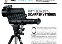 Article about Spotter 60 in Norwegian Police Forum