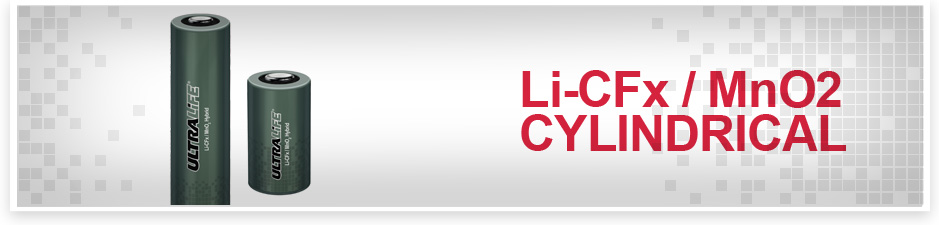 LI-CFX / MNO2 Hybrid Chemistry from Ultralife