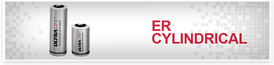 ER Cylindrical (LISOCI2) from Ultralife