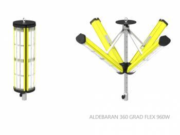 Flexible light efficient all around!