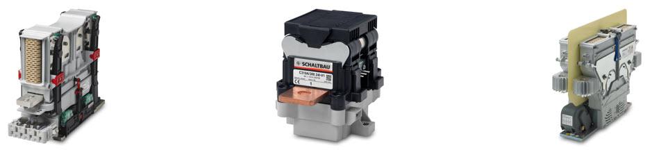 Schaltbau AC and DC contactors for critical applications